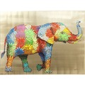 Kare Design Bild Touched Flower Elefant 90 x 120 cm