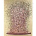 Kare Design Bild Touched Flower oro rosa 160 x 120cm