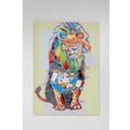 Kare Design Bild Touched Wildlife Lion 70x100cm