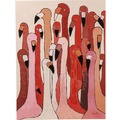 Kare Design Picture Touched Flamingo Meeting 120x90cm