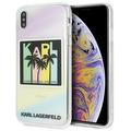 Karl Lagerfeld Karlifornia Dreams Palms - Apple IPhone X/Xs
