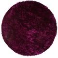 Kayoom Teppich Diamond 700 Violett / Schwarz Ø 200 cm RUND