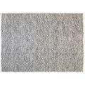 Kayoom Handwebteppich Aperitif 310 Grau 120 x 170 cm