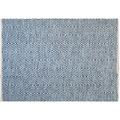 Kayoom Handwebteppich Aperitif 410 Blau 120 x 170 cm
