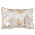 Kayoom Kissen Lavish Pillow 210 Elfenbein / Gold 40 x 60 cm