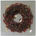 Kayoom Papier Wandbild Schmetterling 80cm x 80cm