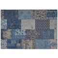 Kayoom Teppich Symphony 160 Blau 120 x 170 cm