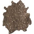 Kayoom Teppich Glam 110 Braun / Gold 1,35qm - 1,65qm