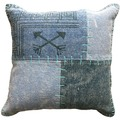 Kayoom Sofakissen Lyrical Pillow 210 Multi / Blau 40 x 60 cm