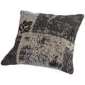 Kayoom Sofakissen Matrix Pillow 110 Schwarz / Grau 45 x 45 cm