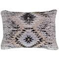 Kayoom Sofakissen Solitaire Pillow 210 Grau 40 x 60 cm