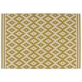 Kayoom Teppich Now! 300 Elfenbein / Gold 120 x 170 cm