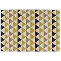 Kayoom Teppich Now! 800 Multi / Gold 120 x 170 cm