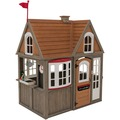 Kidkraft Greystone Cottage Spielhaus mit EZ Kraft Assembly