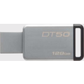 Kingston Data Traveler 50, USB 3.0, 128GB, Metal Schwarz