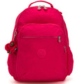 Kipling Back To School Seoul Go Rucksack 44 cm Laptopfach true pink