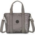 Kipling Basic Plus Asseni Mini Shopper Tasche 33 cm carbon metallic
