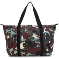 Kipling Packable Bags Art faltbare Shopper Tasche 57 cm camo l light