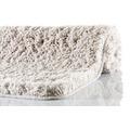 Kleine Wolke Badteppich Trend Auster 55 cm x 55 cm WC-Vorleger mit Ausschnitt