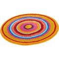 Kleine Wolke Badteppich MANDALA Multicolor 60 cm rund