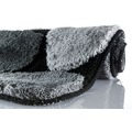 Kleine Wolke Badteppich Stone Schwarz 70 cm x 120 cm