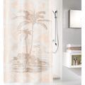 Kleine Wolke Duschvorhang Exotic Sandbeige 180x200 cm
