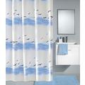 Kleine Wolke Duschvorhang Seaside, Krokusblau 120 x 200 cm (Breite x Höhe)