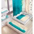 Kleine Wolke Wanneneinlage Waikiki Multicolor 36x 92 cm