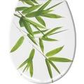 Kleine Wolke WC-Sitz Bamboo, Grün 37x 45 cm