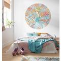Komar  Cinderella Pastel Dreams 125 x 125 cm