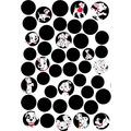 """Komar Deco-Sticker """"101 Dalmatiner Dots"""" 50 x 70 cm"""