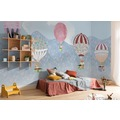 """Komar Digitaldruck Fototapete auf Vlies """"Happy Balloon"""" 500 x 250 cm"""