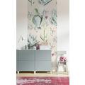 "Komar Digitaldruck Fototapete auf Vlies""Cactus Rose Panel"" 100 x 250 cm"