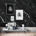 """Komar Digitaldruck Fototapete auf Vlies""""Marble Nero"""" 400 x 250 cm"""