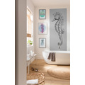 "Komar Digitaldruck Fototapete auf Vlies""Seahorse Panel"" 100 x 250 cm"