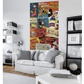 "Komar Digitaldruck Vlies Panel ""Mickey - Billboard"" 120 x 200 cm"