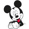 Komar Disney Wandbild Mickey Mouse Funny 30 x 40 cm