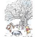 Komar Disney Wandbild Winnie Pooh Playground 30 x 40 cm