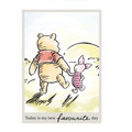 Komar Disney Wandbild Winnie Pooh Today 30 x 40 cm
