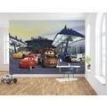 """Komar Fototapete """"Cars3 Station"""" 368 x 254 cm"""