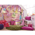 "Komar Fototapete ""Princess Glitzerparty"" 368 x 254 cm"