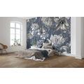"Komar home Vlies Fototapete ""Merian Blue"" 350 x 250 cm"