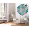 Komar  Jasmin Elegant MInt 125 x 125 cm