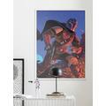 Komar Mandalorian Wandbild Mandalorian Ambush 30 x 40 cm