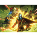 Komar Mandalorian Wandbild Mandalorian Fireteam 40 x 30 cm