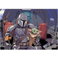 Komar Mandalorian Wandbild Mandalorian The Child Cockpit 40 x 30 cm