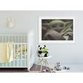 Komar Mandalorian Wandbild Mandalorian The Child Cute Face 40 x 30 cm