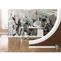Komar Vlies Fototapete munich design book - Gotham 400 x 250 cm