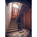 """Komar Stefan Hefele / Lost Places Vlies Fototapete """"Treppenkunst"""" 200 x 280 cm"""