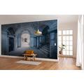 """Komar Stefan Hefele / Lost Places Vlies Fototapete """"Villa Blue"""" 400 x 280 cm"""